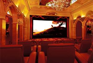 欧式-洛可可 豪华私人影院