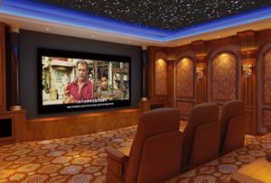 欧式-古典 豪华私人影院