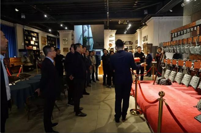 中央纪律检查委员会一行领导走进世界音乐文化博物馆参观视察